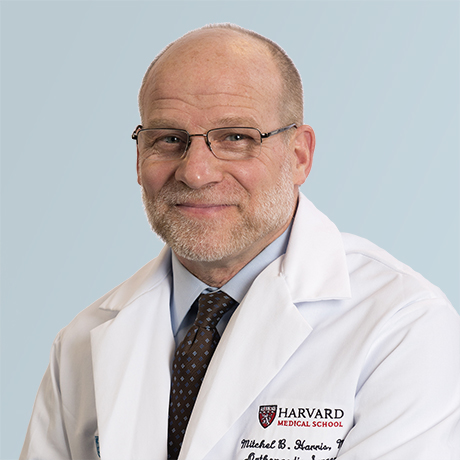 Dr. Mitchel Harris, Chief of the Department of Orthopaedic Surgery
